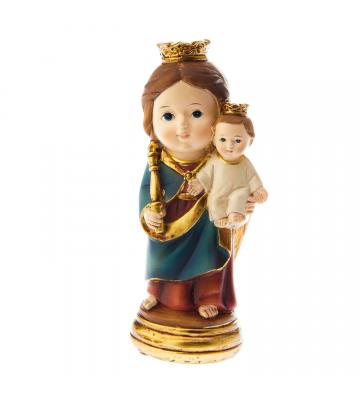 Baby Guardia Svizzera cm 9 Articoli Religiosi DELLARTE Statua Dipinta a Mano